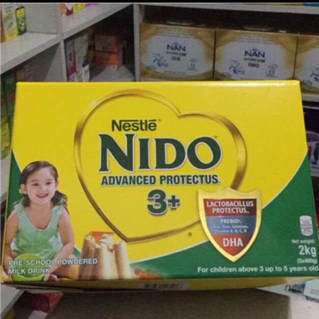 Nido 3+ Preschool milk 2KILOGRAMS/ 1 6KG