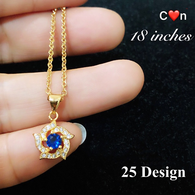 C N Necklace Women S Jewelry Fashion Accessories Bangkok Gold