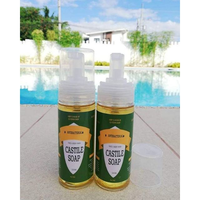 Castile Face and Body Wash