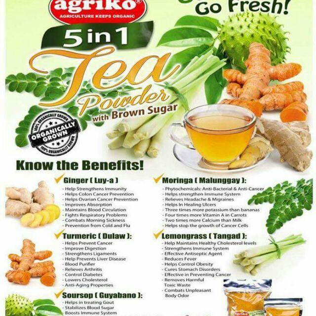 5 in 1 Tea Powder ( Organic)