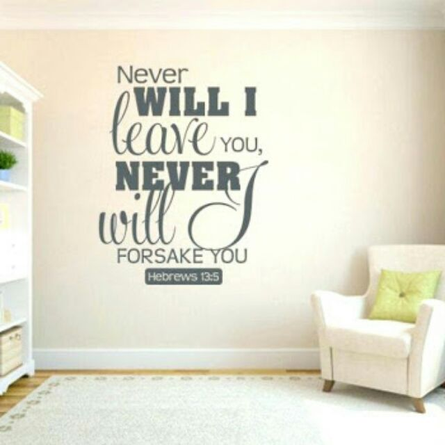 wall decals sticker bible verse saying qoutes | shopee philippines