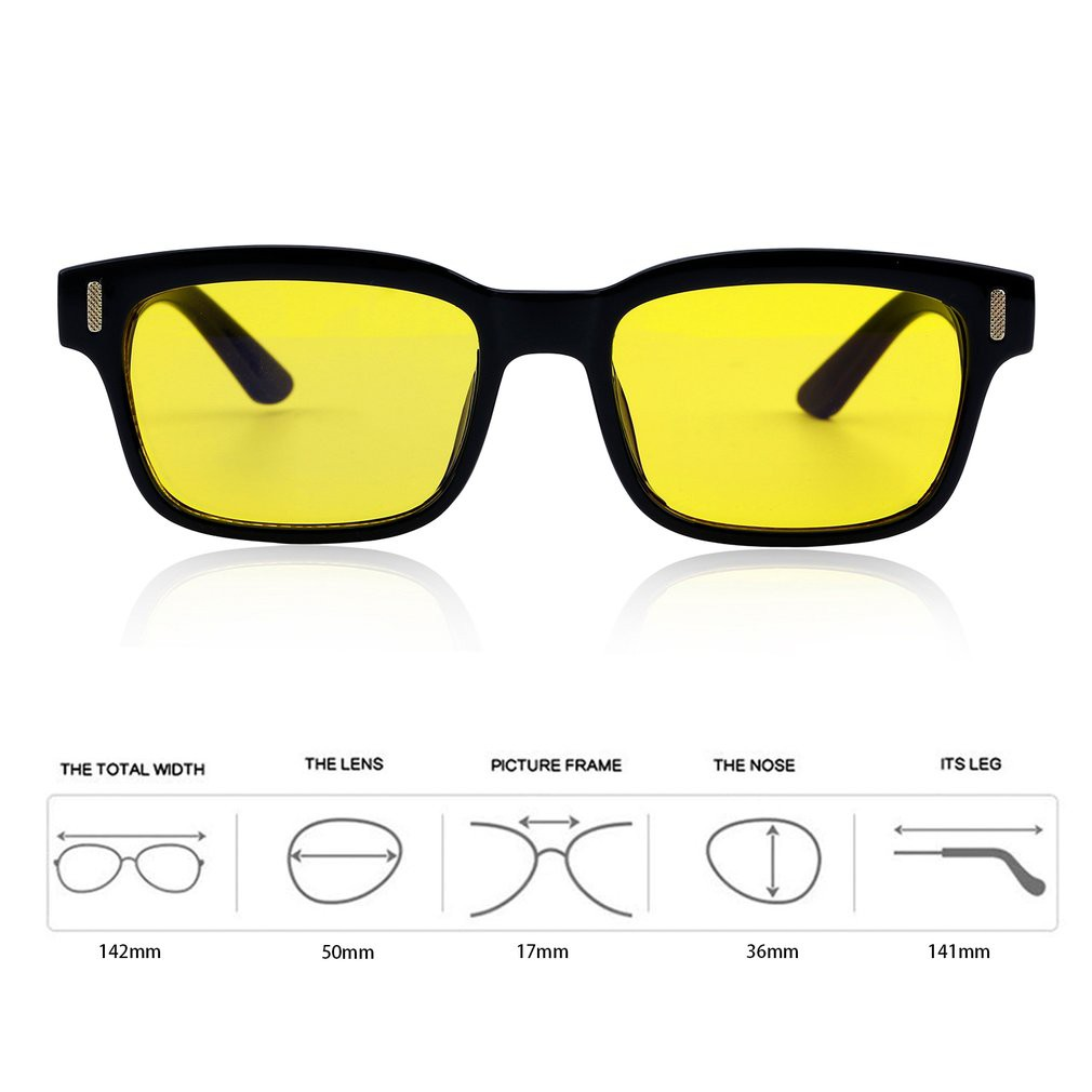 080bff1478a 🔵Anti-blue Rays Reading Radiation Resistant Glasses Googles ...