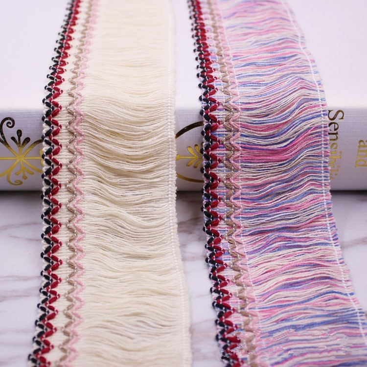 27e5af53a79d1 2yds Fringe Tassel Trim Braid Furnishings Curtain Ribbon | Shopee ...