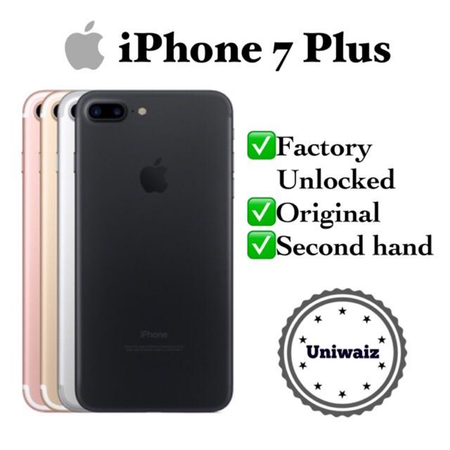 COD iPhone 7 Plus 32gb 128gb Original Factory Unlocked 7+