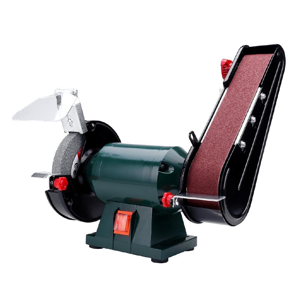 6 150mm Belt Sander Bench Mount Grinder Polishing Grinding Machine Buffer Electric Angle Grinder Shopee Philippines