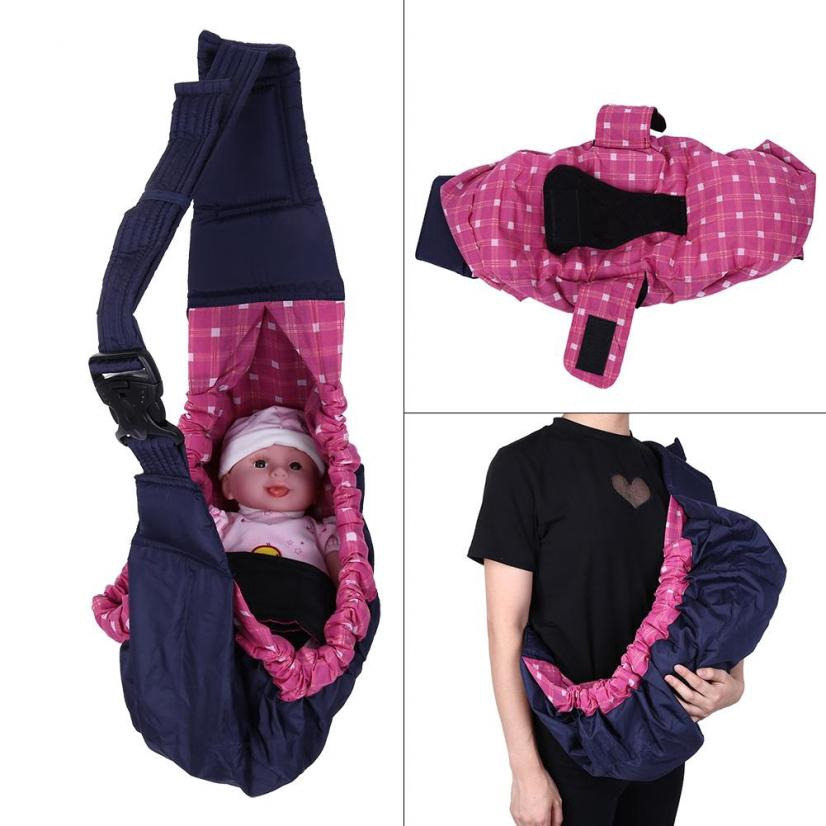 New Baby Infant New born Adjustable Carrier Sling Wrap Rider Backpack Pouch Ring