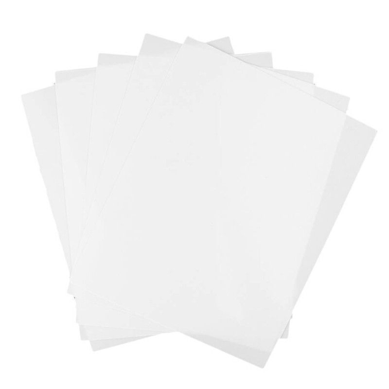 HO//OO Model Train 5 Pieces White ABS Plastic Sheet 200*250*3mm for Hobbyist