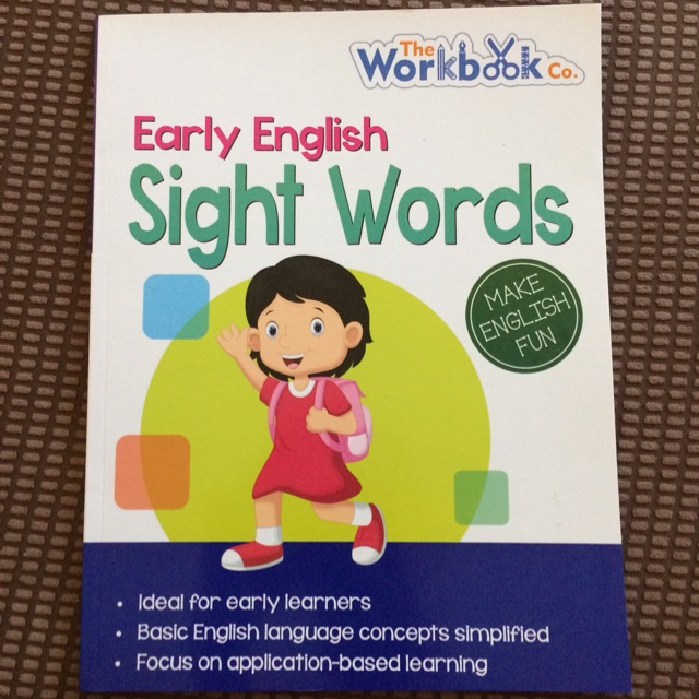 Early English Sight Words