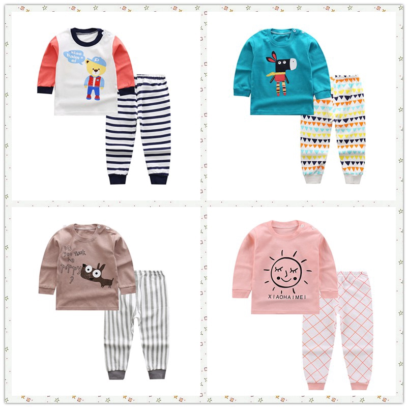 Children set sleepwear clothes / Baby boys pajamas clothes / baby clothing