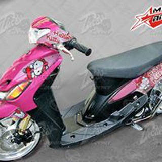 Motorcycle Decals Sticker Kit Mio Amore Mio Sporty