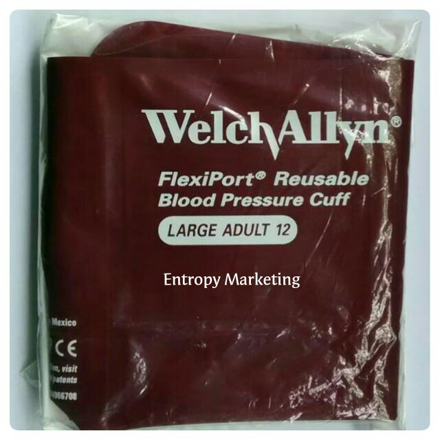 US Welch Allyn Flexiport Reusable blood pressure cuff Large