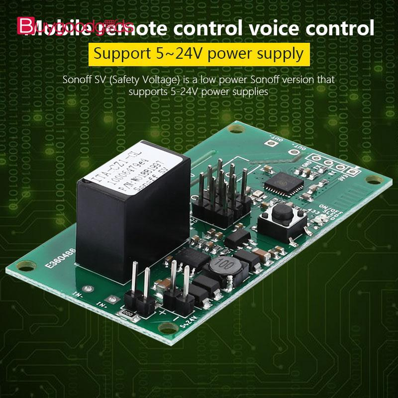 BUG Sonoff SV Wireless Module WiFi Module 10A | Shopee