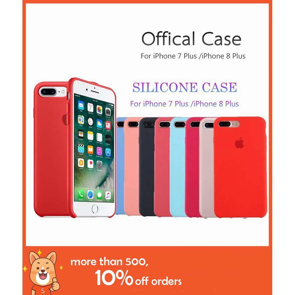 premium selection 891d9 27c39 Original Liquid Silicone Phone Case iPhone 7/8 case