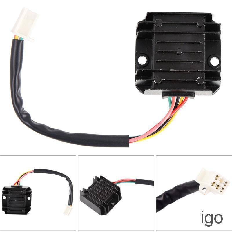 Voltage Regulator Rectifier For Cg125, Motorcycle 5 Wire Regulator Rectifier Wiring Diagram