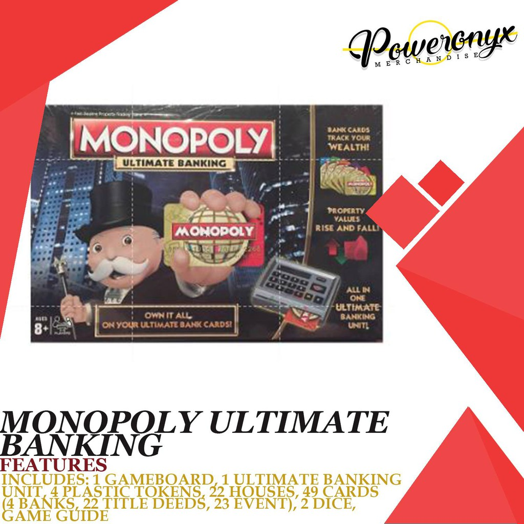 Monopoly Ultimate Banking Brand New and Sealed
