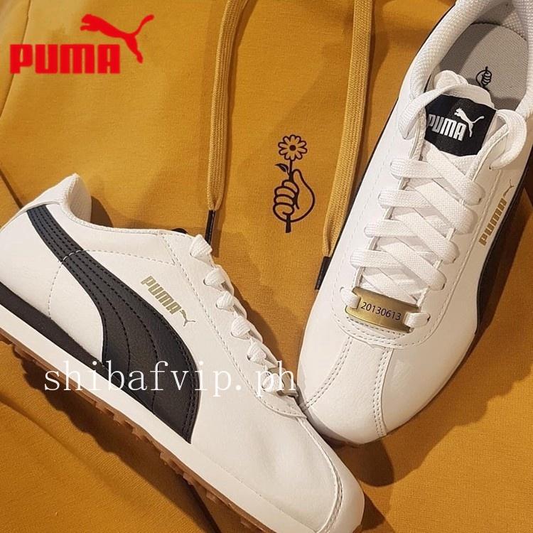 2018 new arrival original PUMA TURIN X BTS white shoes Korea