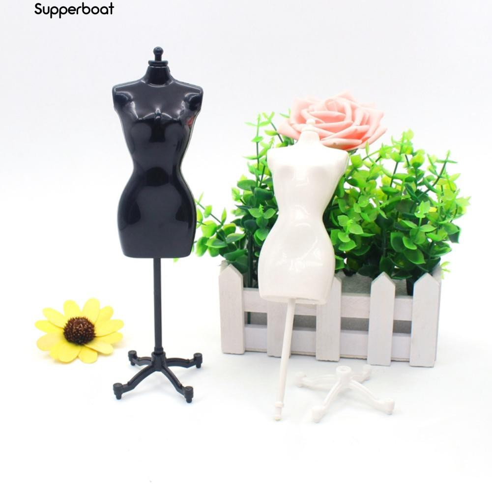 Mannequin Dress Clothes Gown Model Stand for Barbie Doll Display Holder Noted Sa