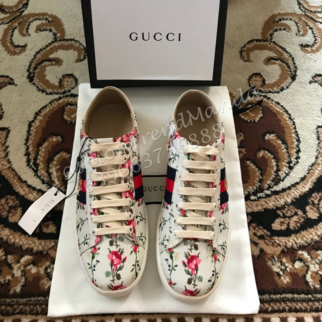 fc7a1e3387b Gucci Sneakers Ace embroidered low-top sneaker