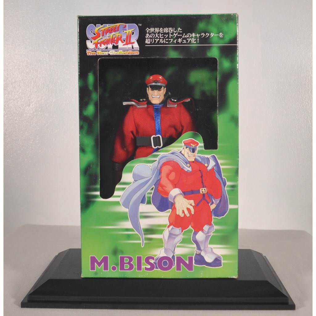 Super Street Fighter Ii M Bison Figure Shopee Philippines
