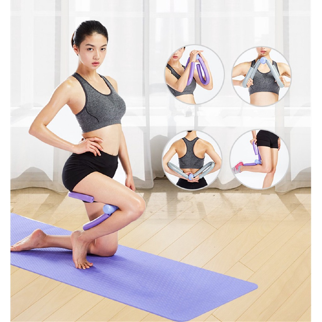 Thigh Master Leg Ab Arm Muscle Toner Fitness Exercise Machine Gym Equipment Blue