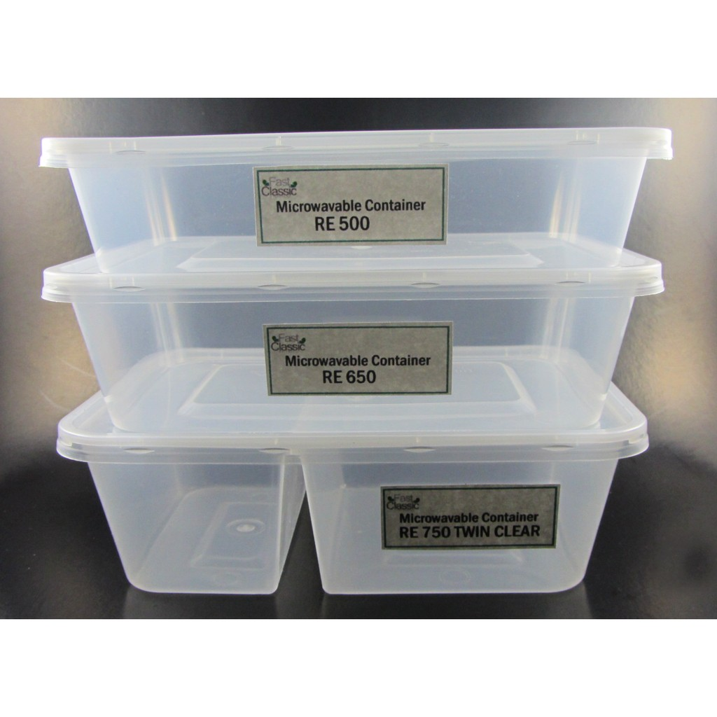 Microwavable Food Container 10 Pcs