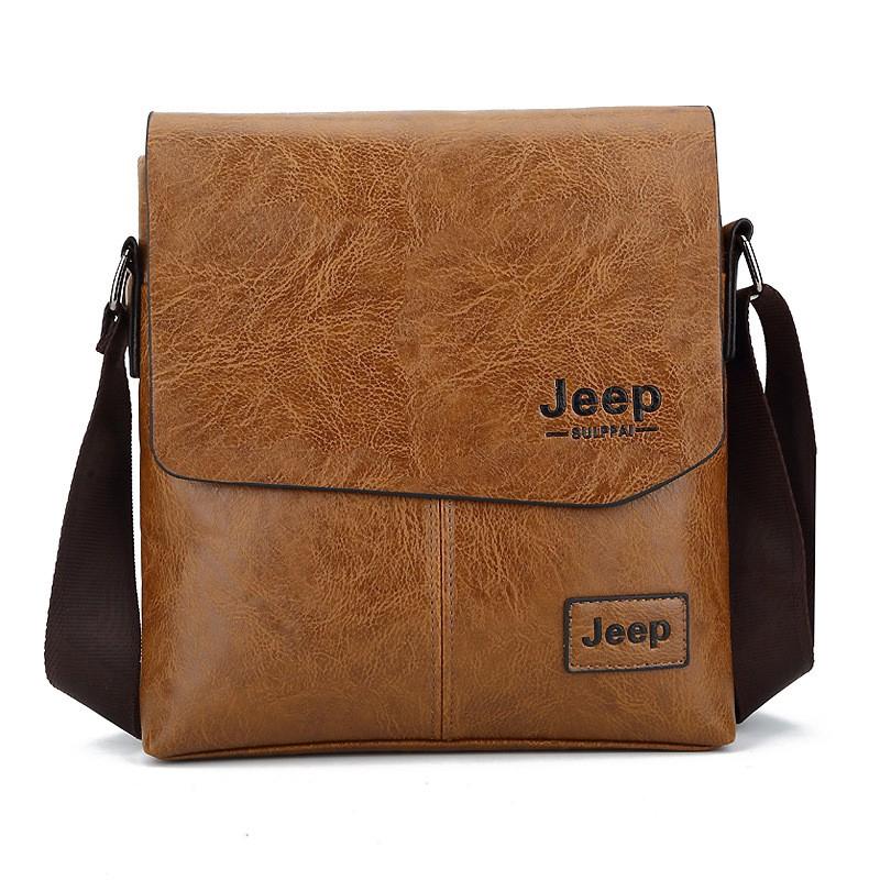 e8a2998f92e1 Jeep Men Crossbody Sling Shoulder Bag Fashion Business bags
