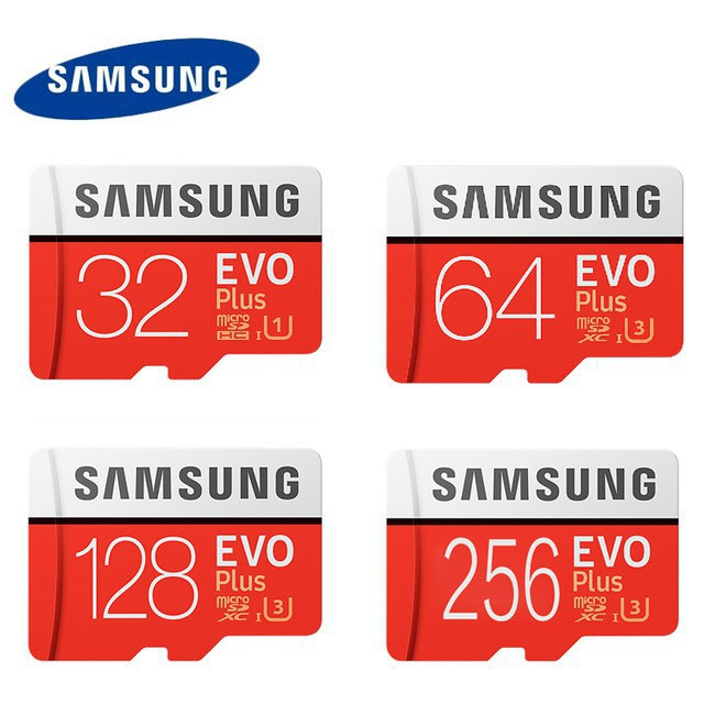 SD Card Evo Plus 128GB 64GB 32GB 16GB Micro SD Memory Card