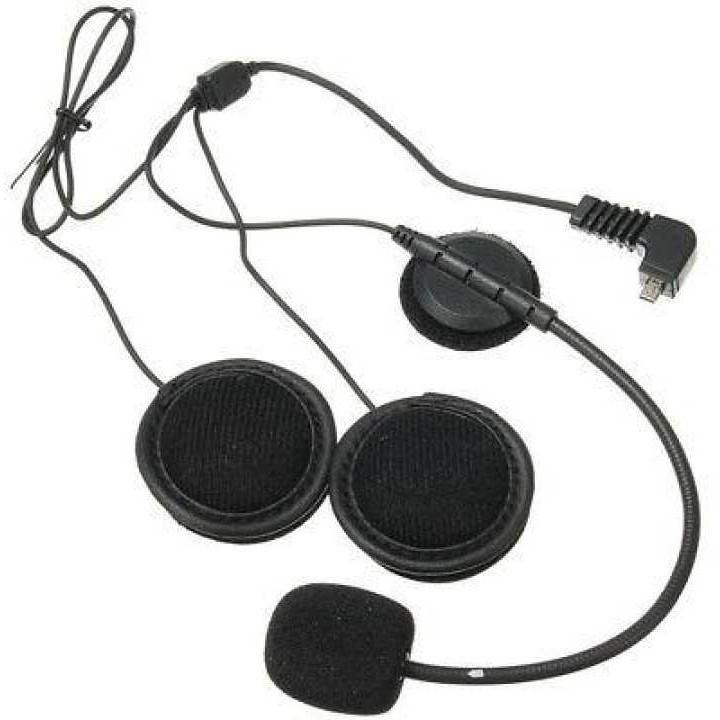 Microphone MIC Earpiece For BT-S3 BT-S1 BT-S2 Motorcycle Headset Helmet 1000m
