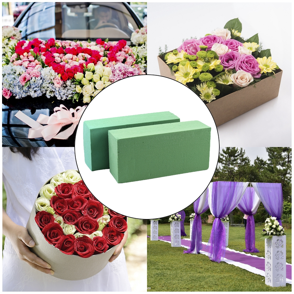 In Stock Floral Foam Brick Stand Flower Wedding Bouquet Holders Great Gift Shopee Philippines