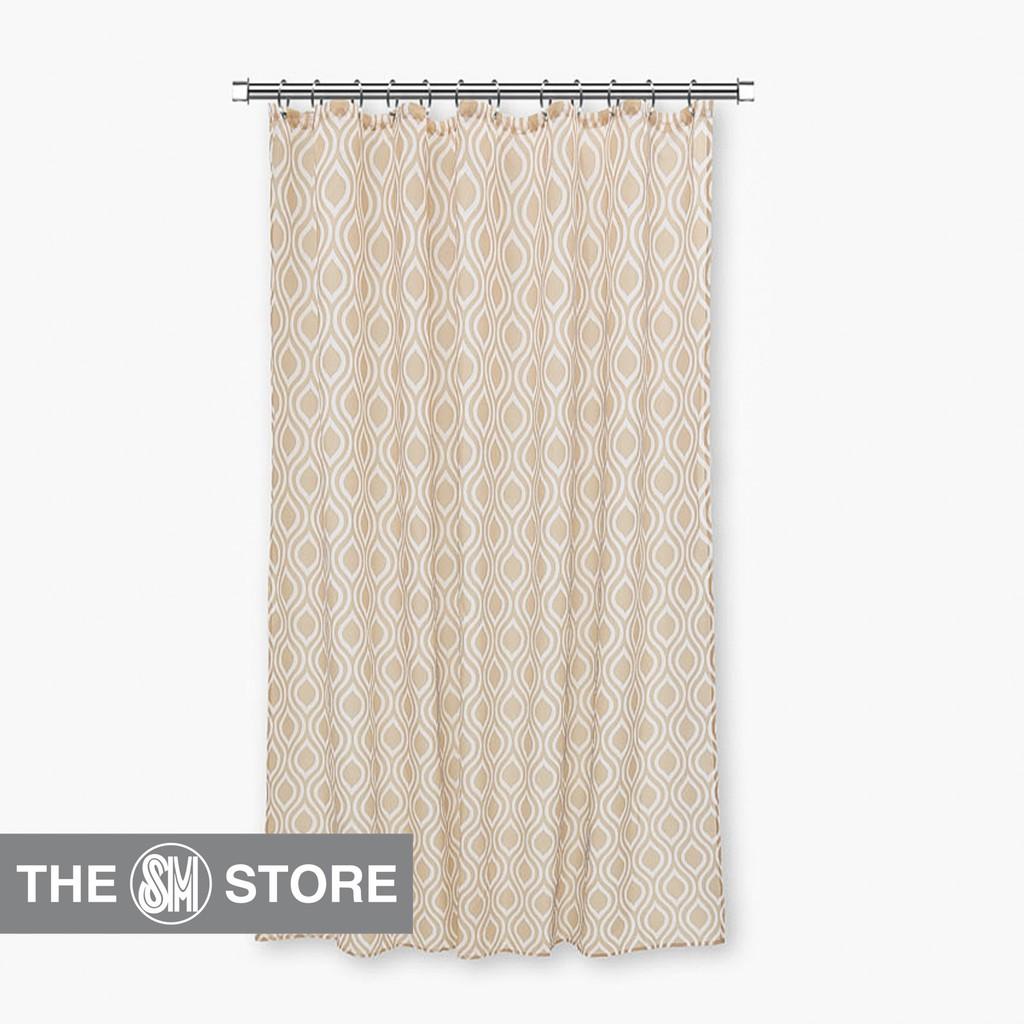 SM Home Shower Curtain Beige