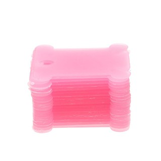 10pcs Plastic Thread Bobbins Holders for DIY Sewing Cross Stitch Embroidery