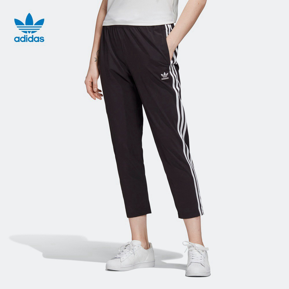 Al por menor correr Selección conjunta  Adidas Cropped Pants Originals Track Pants Women Summer Sports Casual  Fashion Ankle Pants GK6169 | Shopee Philippines