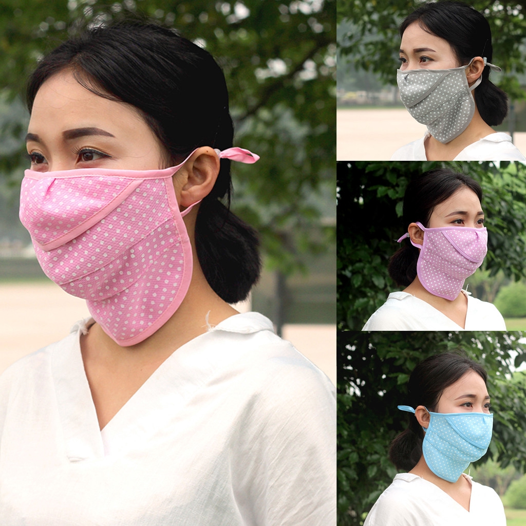 Reusable Anti-dust Cotton Mouth Face Masks Mouth Cover Sunmask