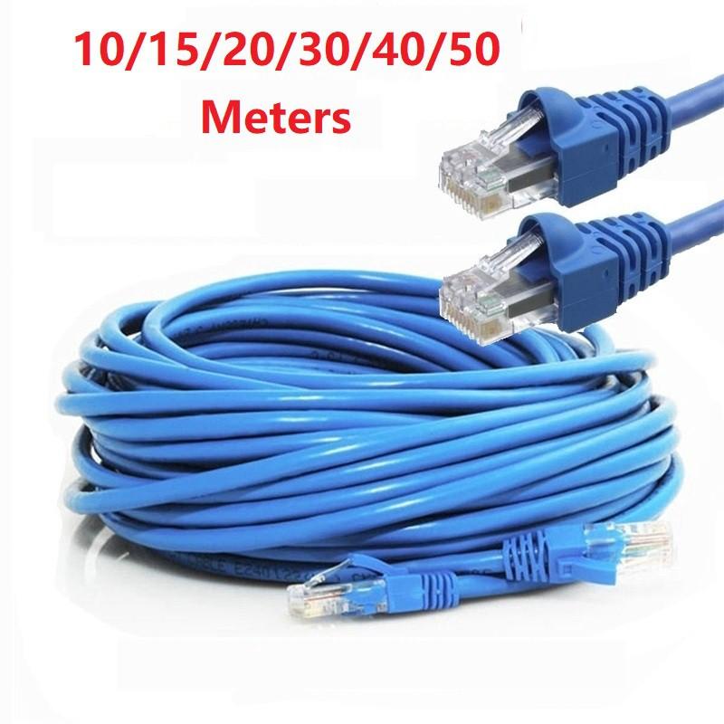 10 ~ 50 Meters CAT5E Ethernet Internet RJ45 Cable, Lan ...