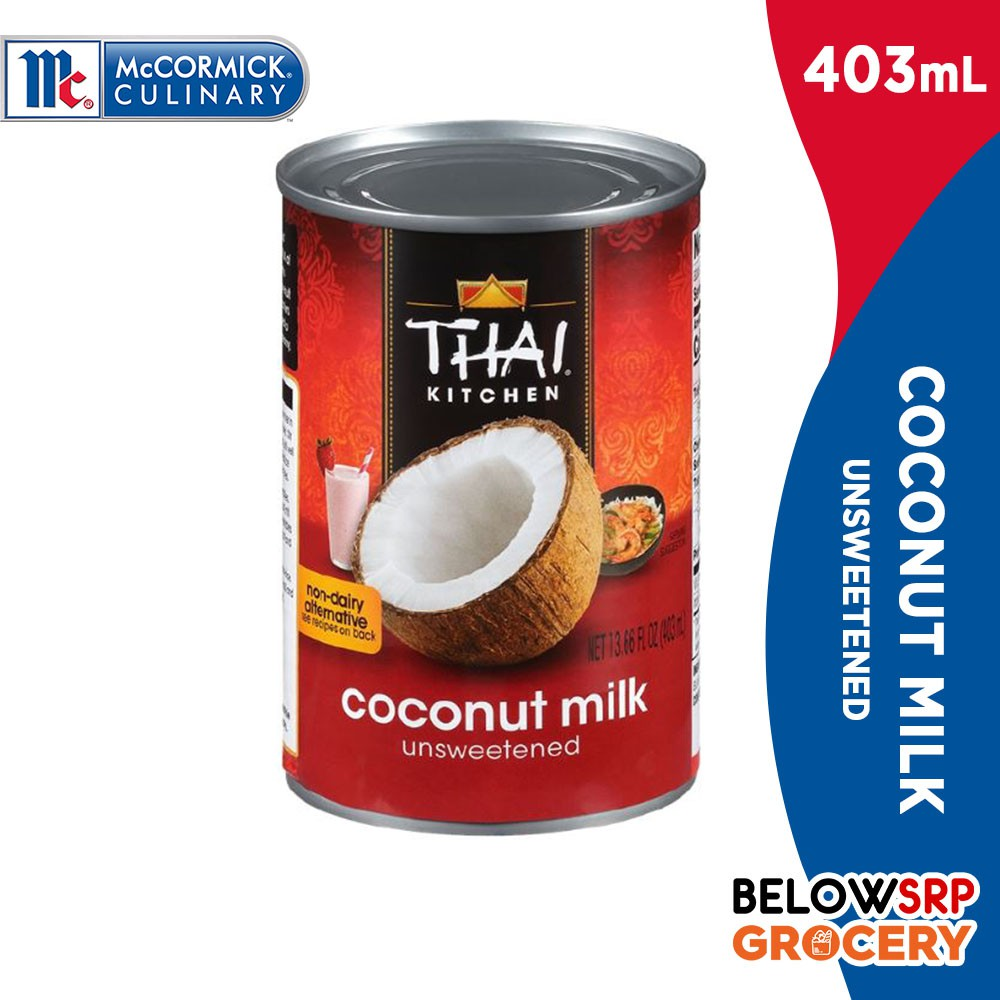 McCormick Thai Kitchen Coconut Milk 403ml | Shopee Philippines