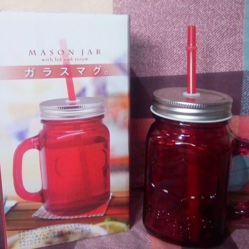 c7bd05e2c4f7 Mason Jar (with straw & lid)