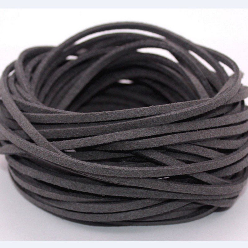 2pcs roll spool 3mm 10 yards suede leather wholesale strings Jewelry Making Cord