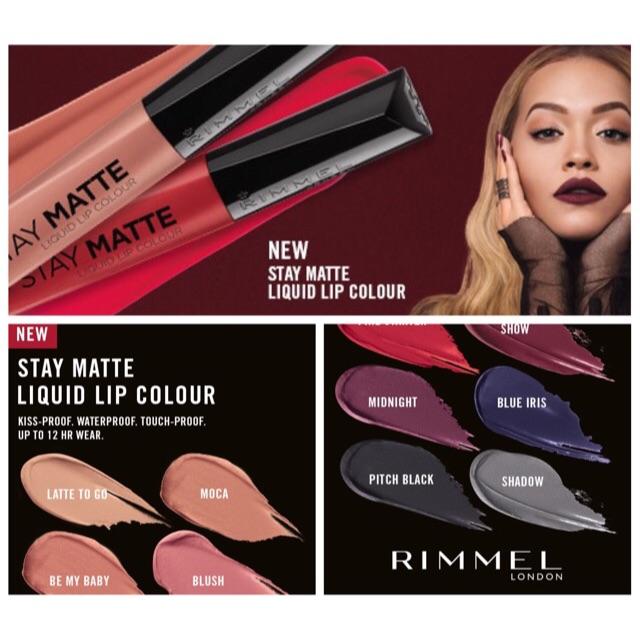 Rimmel London Stay Matte Liquid Lip Colour Lipstick