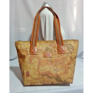 Authentic F Lasse Ancient Sailing Map Shopper s Tote Bag  c6404a5ff7f90