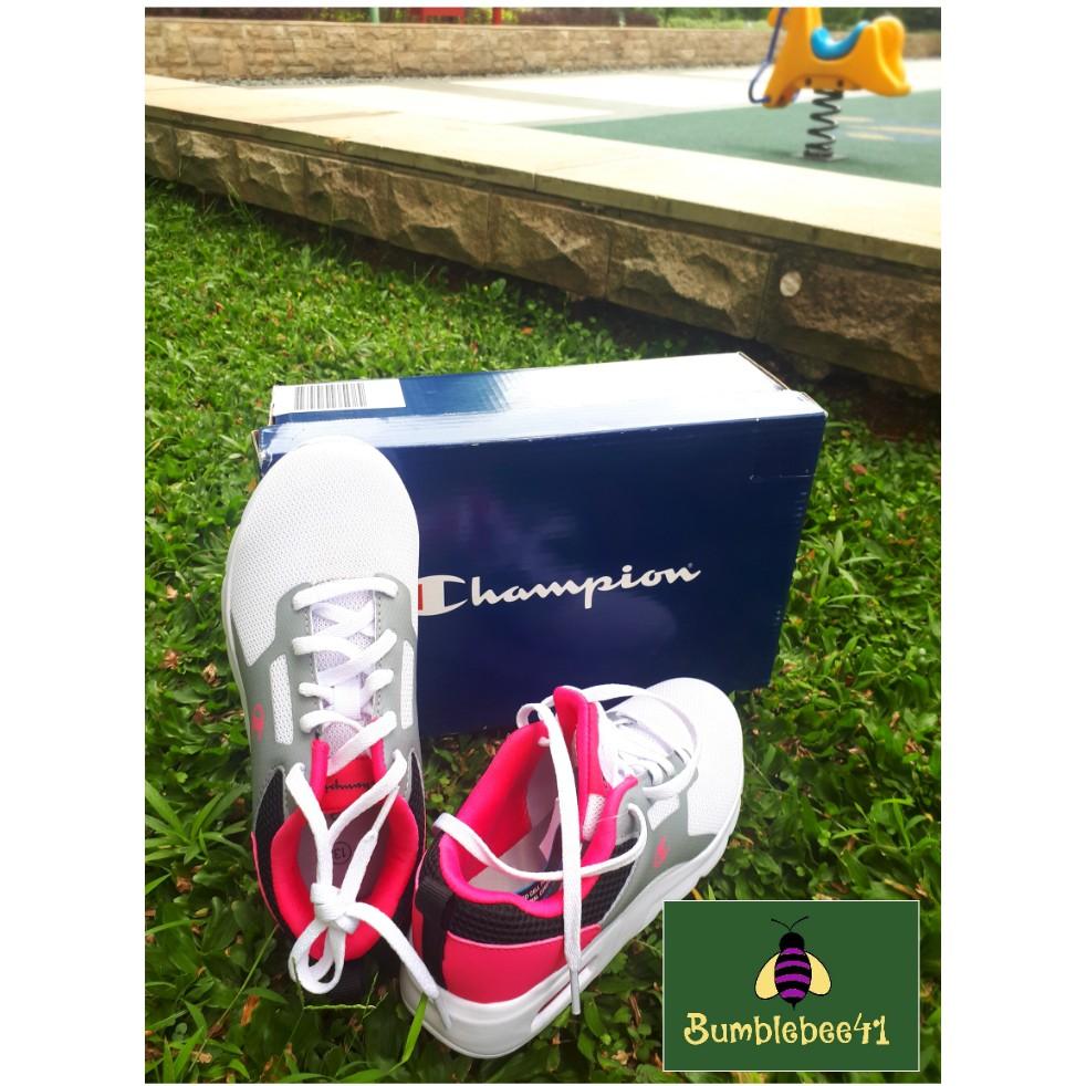 White Black Pink Runner Shoes