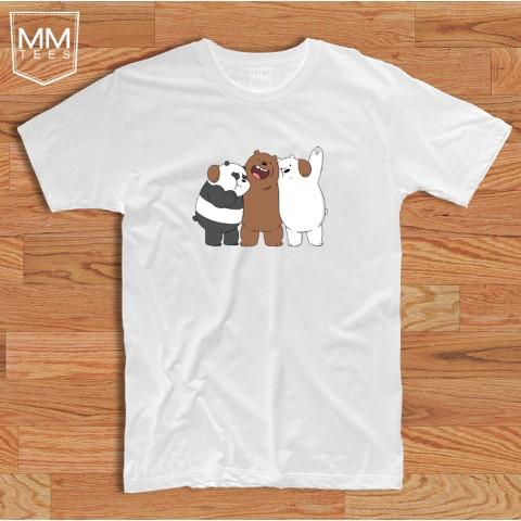 d1f4ae10d Diy We Bare Bears T-Shirt Panda Ice Bear Park Grizzly Animal | Shopee  Philippines