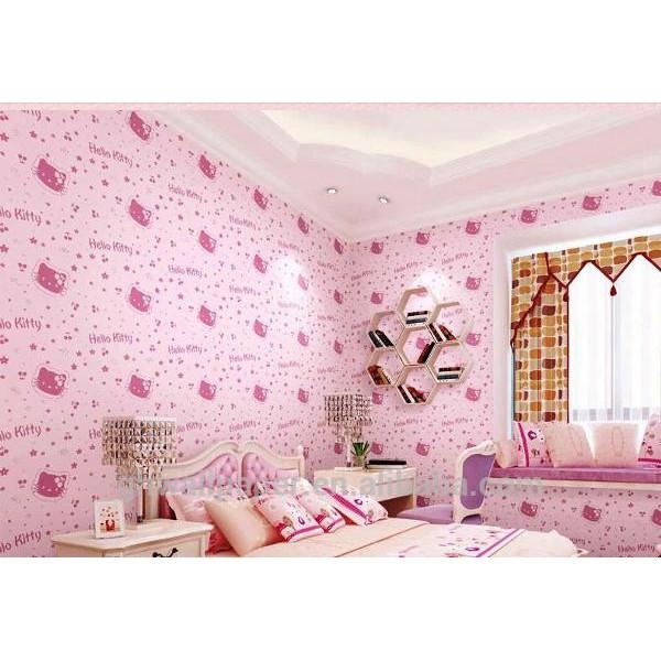 105 Hello Kitty Printed Designs Pvc Self Adhesive Wallpaper Shopee