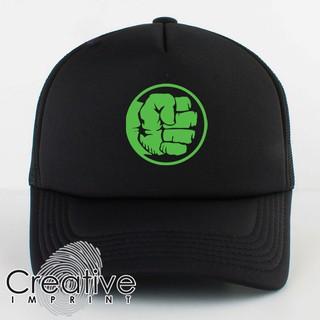 5ce1c6e0e Hulk Fist Marvel Avengers Infinity Wars Trucker Mesh Net Cap ...
