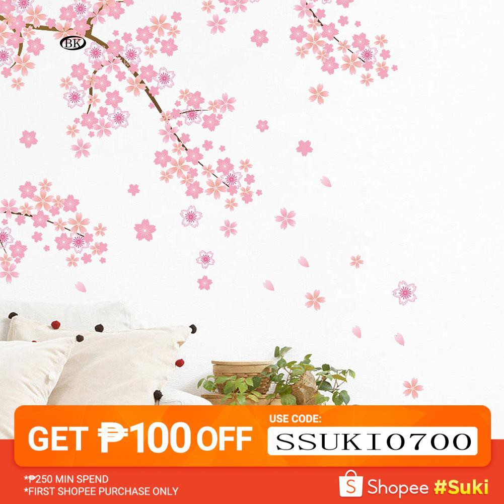 b0954f029 New Romantic Butterfly Tree Removable Wall Sticker Bedroom Living Room DIY  | Shopee Philippines