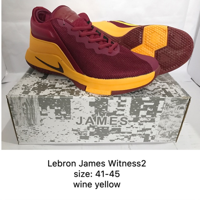cee7513f8efd Lebron James Shoes (Maroon)