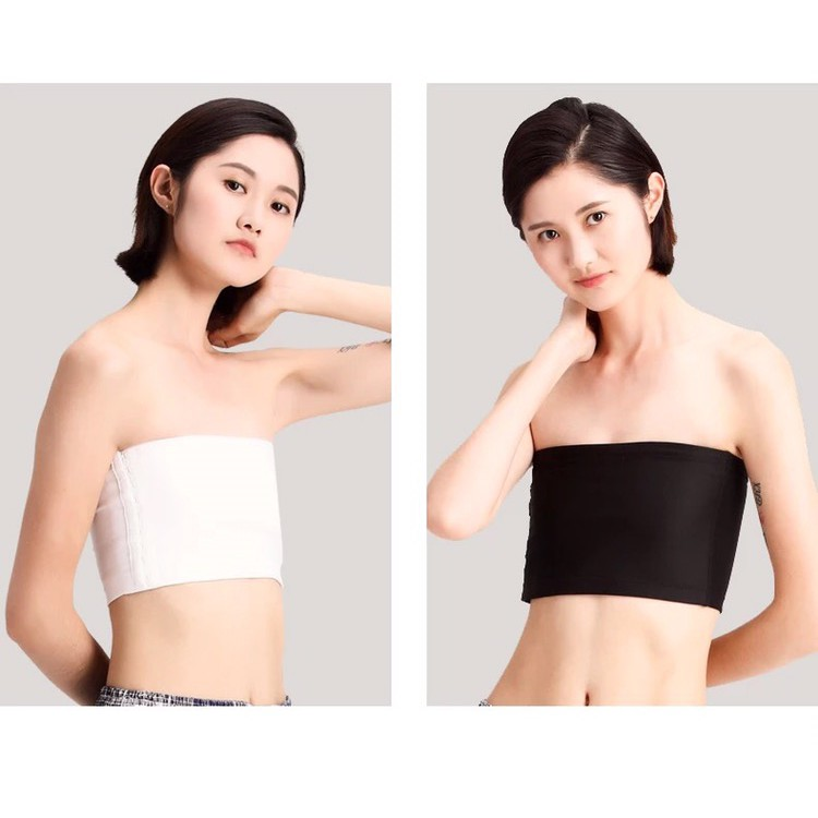 PEP-NEW Breathable Strapless Chest Breast Binder Trans