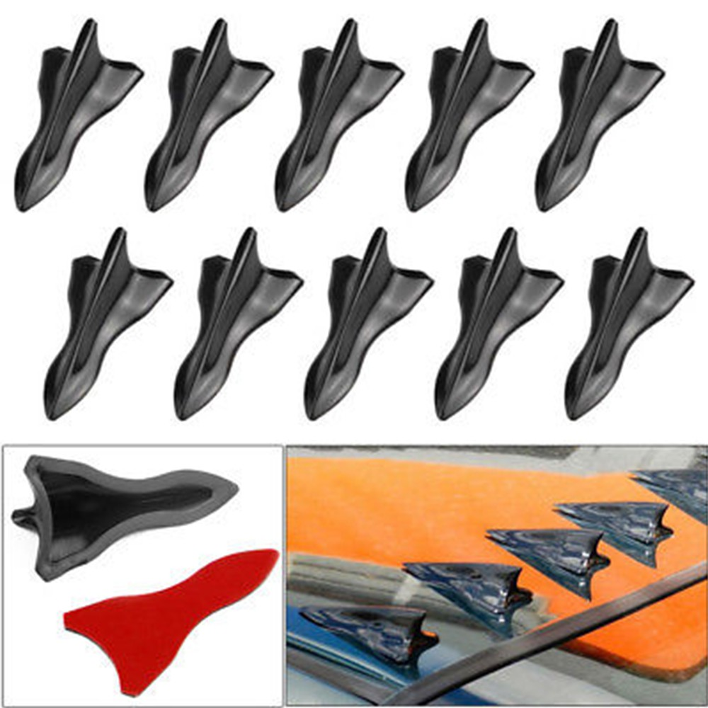 Shark Fin Diffuser Vortex Generator For Honda Windshield Roof Spoiler Bumper | Shopee Philippines
