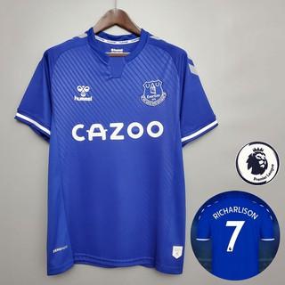 2020 21 New Everton Football Jersey Jersi 19 James Soccer Jersey Shopee Philippines