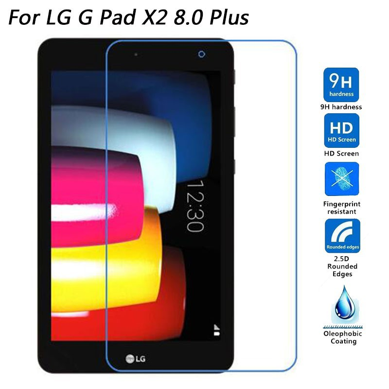LG G Pad X8.3 9H Tempered Glass Screen Protector For LG G Pad 2 II 8.3
