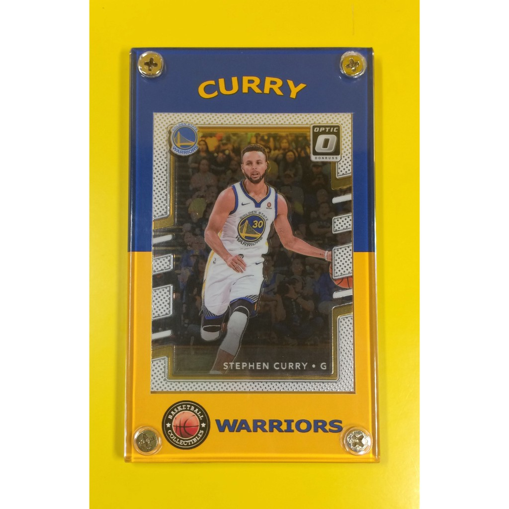 Nba Playoffs Special Stephen Curry Genuine Nba Card
